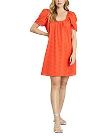 Eyelet Cotton Dress
