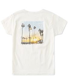 Juniors' Beach Love Cotton T-Shirt