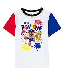Little Boys Pawsome Short Sleeve T-shirt