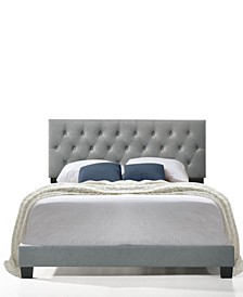 Royale Tufted Bed with USB Charging Ports, King