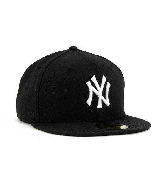fd92957cb47 New Era New York Yankees B-Dub 59FIFTY Cap   Reviews - Sports Fan ...