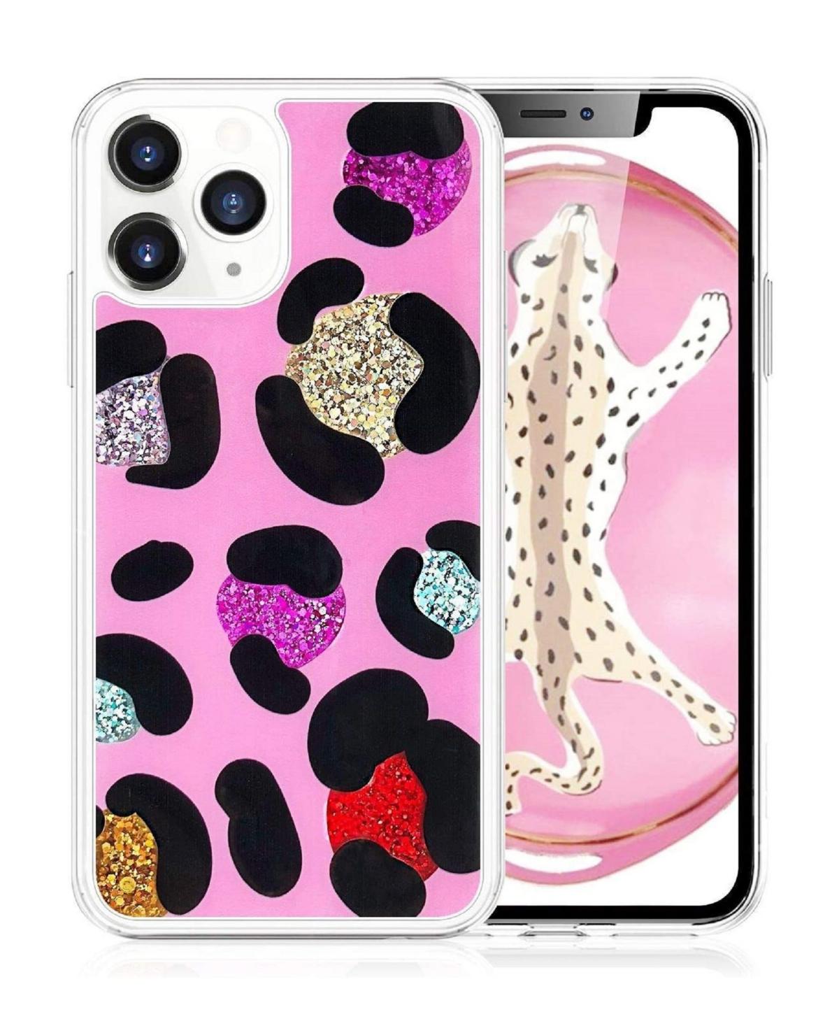 Milanblocks iPhone 11 Pro Leopard Glitter Phone Case