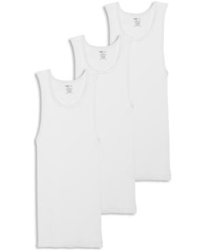 Men's Cotton Big Man A-shirt Tank Top