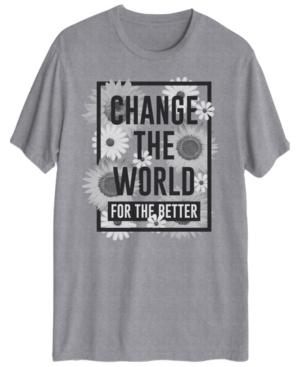 Men's Change the World Short Sleeve Graphic T-shirt