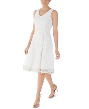 Floral-Lace Dress