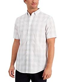 Men's Short Sleeve Printed Shirt, Created for Macy's