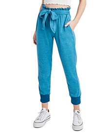 Paperbag-Waist Jogger Pants