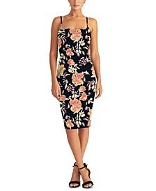 Delilah Floral-Print Sheath Dress