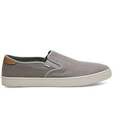 Men's Gray Heritage Canvas Baja Sneakers