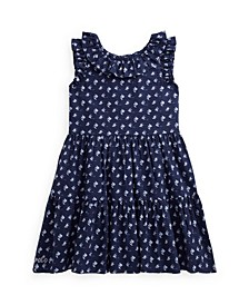 Angelfish Cotton Seersucker Dress
