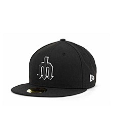 Seattle Mariners Black and White Fashion 59FIFTY Cap