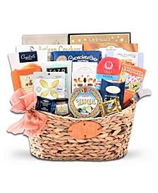 Gourmet Food Wicker Gift Basket