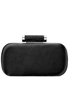Women's Minaudiere with Crystal Clasp