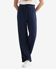 Women's Cloud Jersey Rib Mix Pants