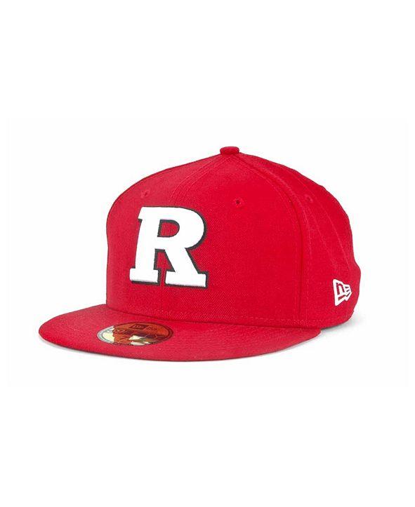 New Era Rutgers Scarlet Knights 59FIFTY Cap