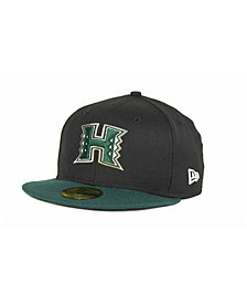 New Era Hawaii Warriors 2 Tone 59FIFTY Cap