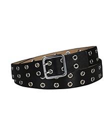 Women's Casual Double Grommet Belt
