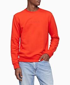 Men's Terry Logo Crewneck Sweatshirt