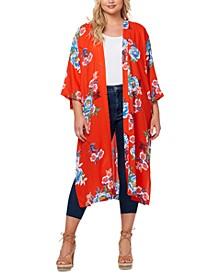 Trendy Plus Size Gwendelin Kimono