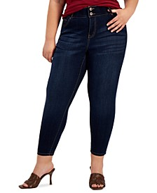 Trendy Plus Size Fit Solution Skinny Jeans
