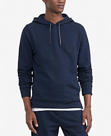 Men's Big & Tall Logo Embroidered French Terry Hoodie