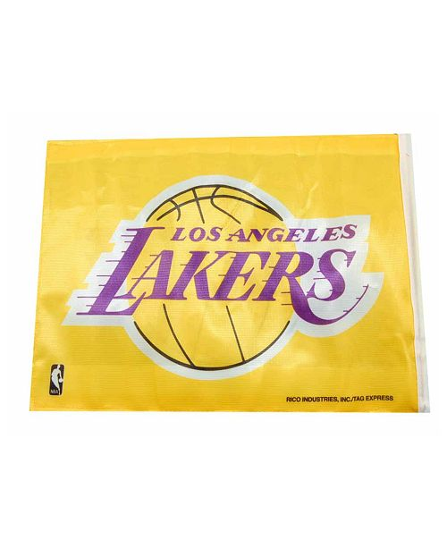 Rico Industries  Los Angeles Lakers Car Flag