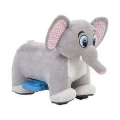 Huffy Elephant Plush Ride on Toy for Toddlers, 6V