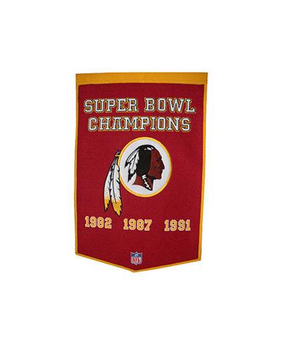 Winning Streak Washington Redskins Dynasty Banner