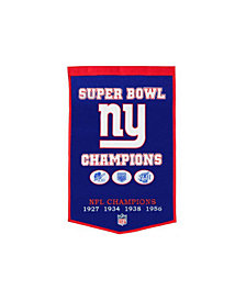 Winning Streak New York Giants Dynasty Banner