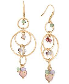 Multi-Link Shaky Bead Linear Drop Earrings, Created for Macy's