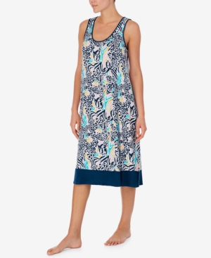 Printed Ballet Nightgown