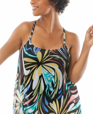 Current Mesh Bra-Sized Tankini Top Women's Swimsuit