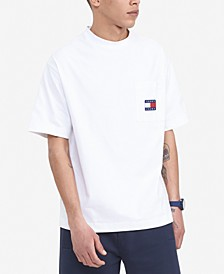 Tommy Hilfiger Men's Space Jam: A New Legacy x Tommy Jeans Pocket Crew T-Shirt