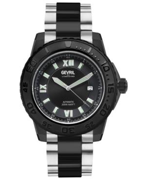 Men's Seacloud Swiss Automatic Two-Tone Stainless Steel Bracelet Watch 45mm