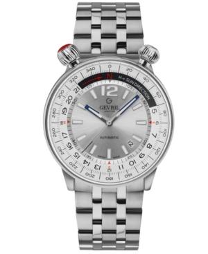 Men's Wallabout Swiss Automatic Stainless Steel Bracelet Watch 44mm