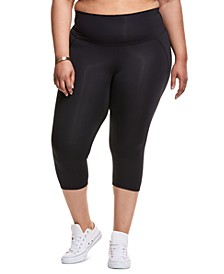 Plus Size Knee-Length Sport Tights