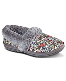 Women's BOBS for Paws BOBS Too Cozy - Snuggle Rovers Slipper Shoes from Finish Line