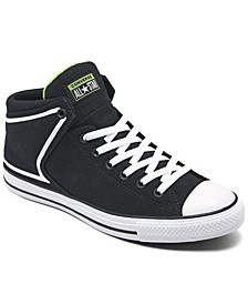 Men's Chuck Taylor All Star PWF Street Mid Casual Sneakers from Finish Line