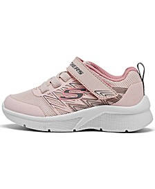 Toddler Girls Microspec - Bold Delight Stay-Put Running Sneakers from Finish Line