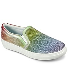 Women's Goldie - Sparkle Queen Slip-On Casual Sneakers from Finish Line