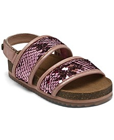 Toddler Girls Jemma Sequin Sandals from Finish Line