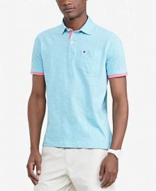 Men's Custom-Fit  Stillwater Textured Polo Shirt