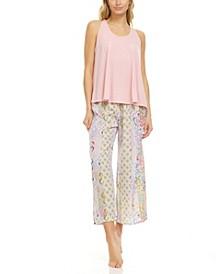 Women's Nadia 2 Piece Pajama Capri Set
