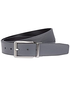 Men's Reversible Textured Core Belt, Created for Macy's