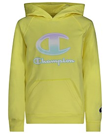 Big Girls Ombre C-Script French Terry Hoodie