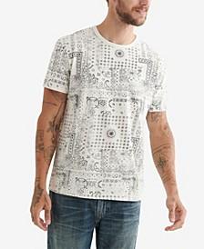 Men's Bandana Print T-shirt