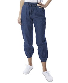 Pull-On Cargo Jogger Pants