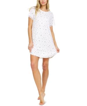 Maura Ribbed Sleep T-Shirt Nightgown