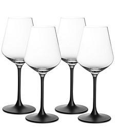 Manufacture Rock Red Wine Goblets, Set of 4