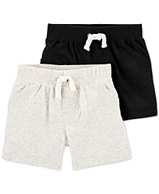 Baby Boys 2-Pk. Cotton Bubble Shorts